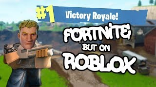 Fortnite but on Roblox