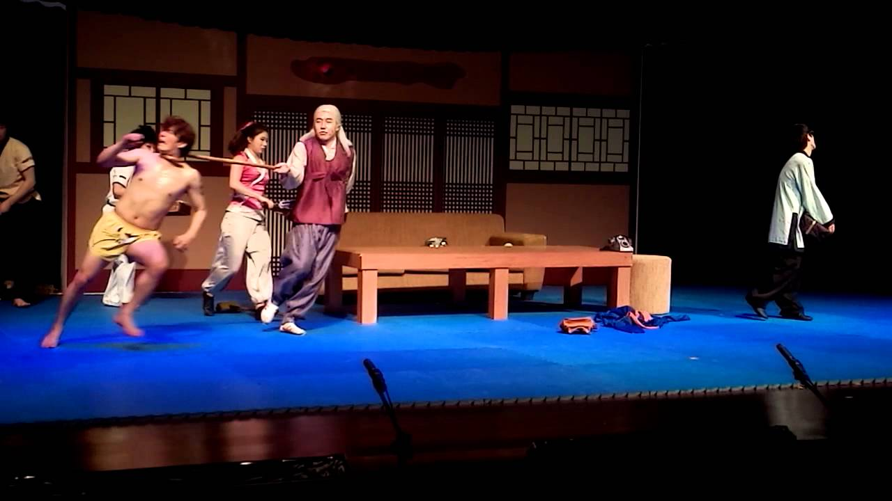 JUMP!!! Comic Martial Arts Performance In Jakarta - YouTube