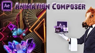 ADOBE AFTER EFFECTS CC17, УРОК #2, ANIMATION COMPOSER