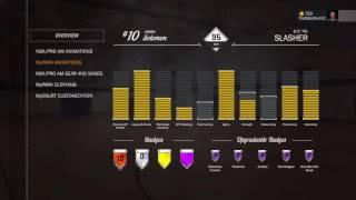 NBA 2k17 BEST SLASHER BUILD 95 OVERALL 5 HALL OF FAME BADGES!!! PG MONSTER BUILD!!!!