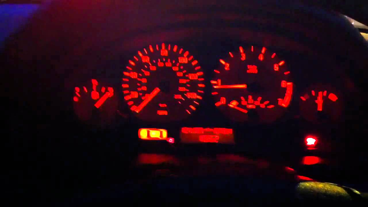 BMW E46 warning light HELP - YouTube