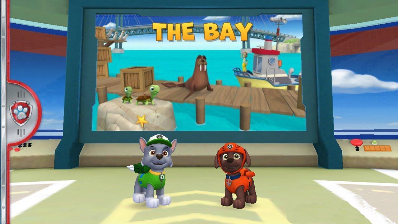 Игра детски щенячий патруль