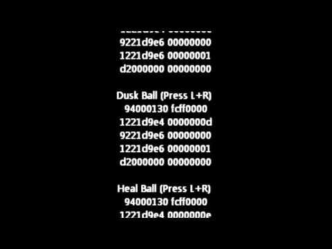 <b>Pokemon White 2</b> Action Replay <b>Cheat Codes</b> (US) - YouTube