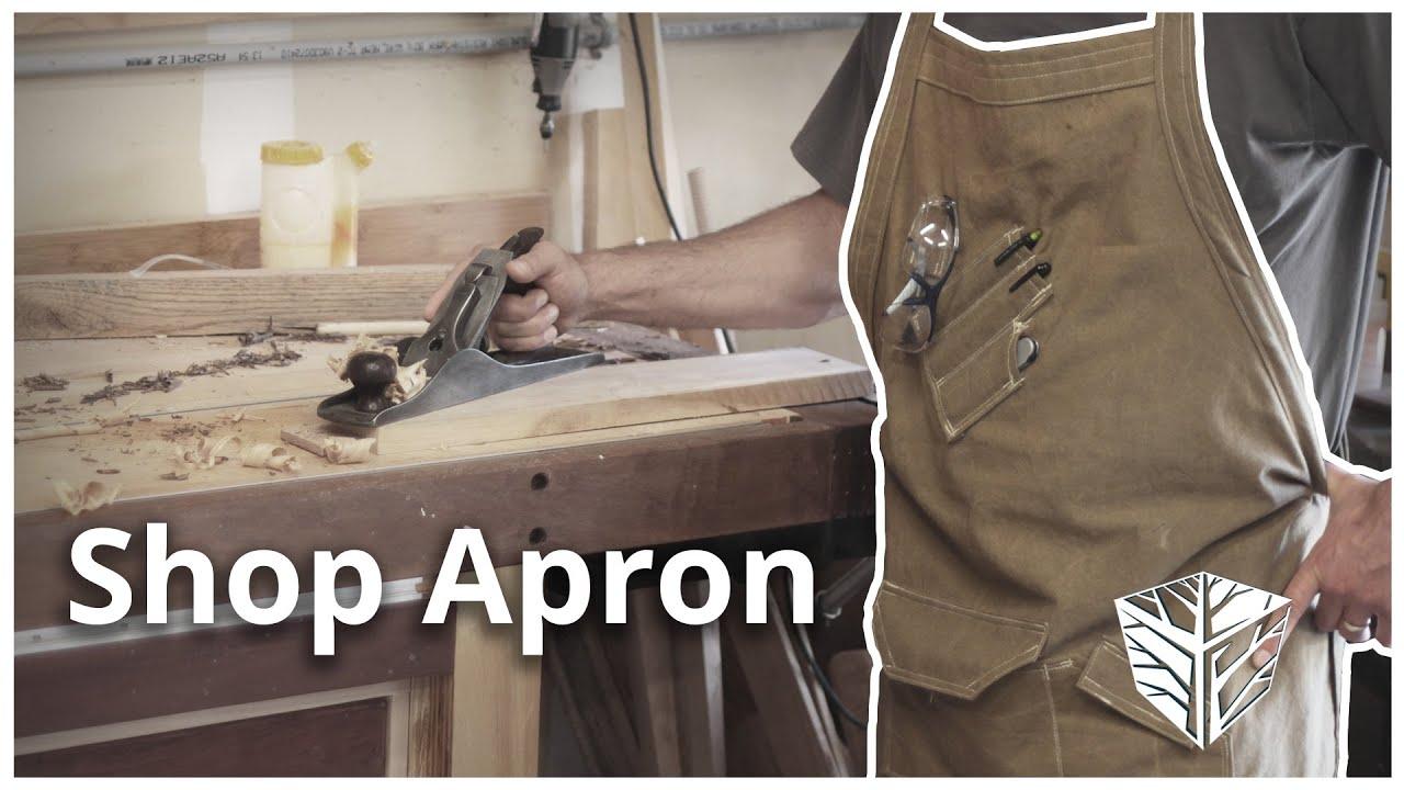 Making A Shop Apron Youtube