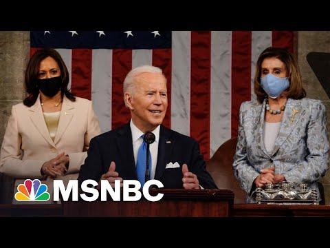 Biden Lays Out Sweeping Agenda In Speech To Congress   MSNBC