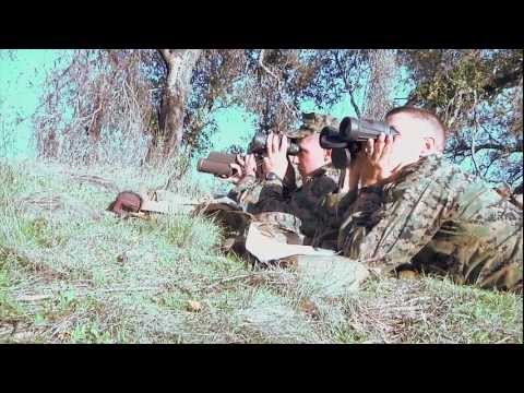Marines Take First Steps To Become Scout Snipers
