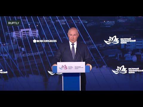 LIVE: Putin takes part in Eastern Economic Forum plenary session in Vladivostok
