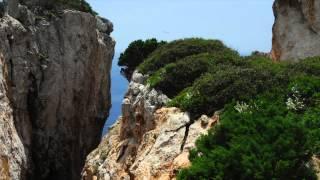 Antikythera, a rock in the sea.