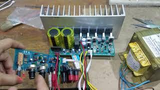 Test Combo mạch sub v3 và biến áp về Trung Hòa - Cầu Giấy - Hà Nội