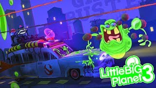 GHOSTBUSTERS   LittleBIGPlanet 3 Gameplay (Playstation 4)