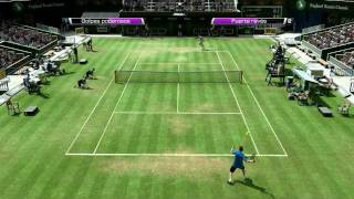 Virtua Tennis 4 - Gameplay PC - Juan Martin Del Potro vs Andy Murray