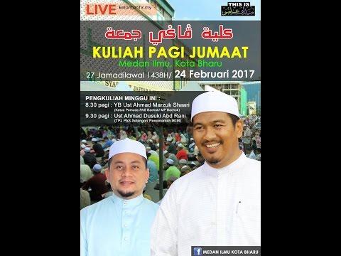(LIVE) Kuliah Jumaat Medan Ilmu- 24 Februari 2017