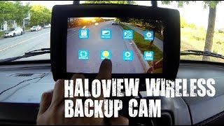 My new Haloview Wireless Backup Cam with DVR
