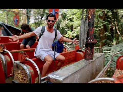 Bringing Life Back into Myanmar's Abandoned Amusement Park! [Backpacking South East Asia Vlog]