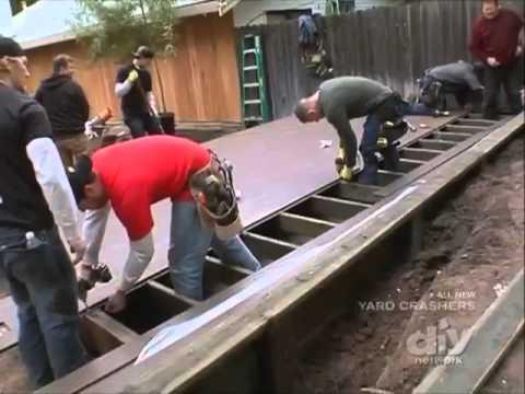 Yard Crashers W Genovations Deck
