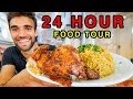JERUSALEM STREET FOOD!!! GIANT 24-HOUR FOOD TOUR in OLD JERUSALEM!