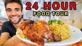 JERUSALEM STREET FOOD!!! GIANT 24-HOUR FOOD TOUR in OLD JERUSALEM!