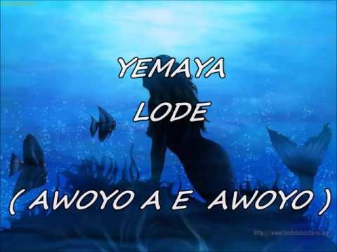 REZOS A YEMAYA ( ABBILONA - LETRA ) ( KAWE KAWE KAWE )