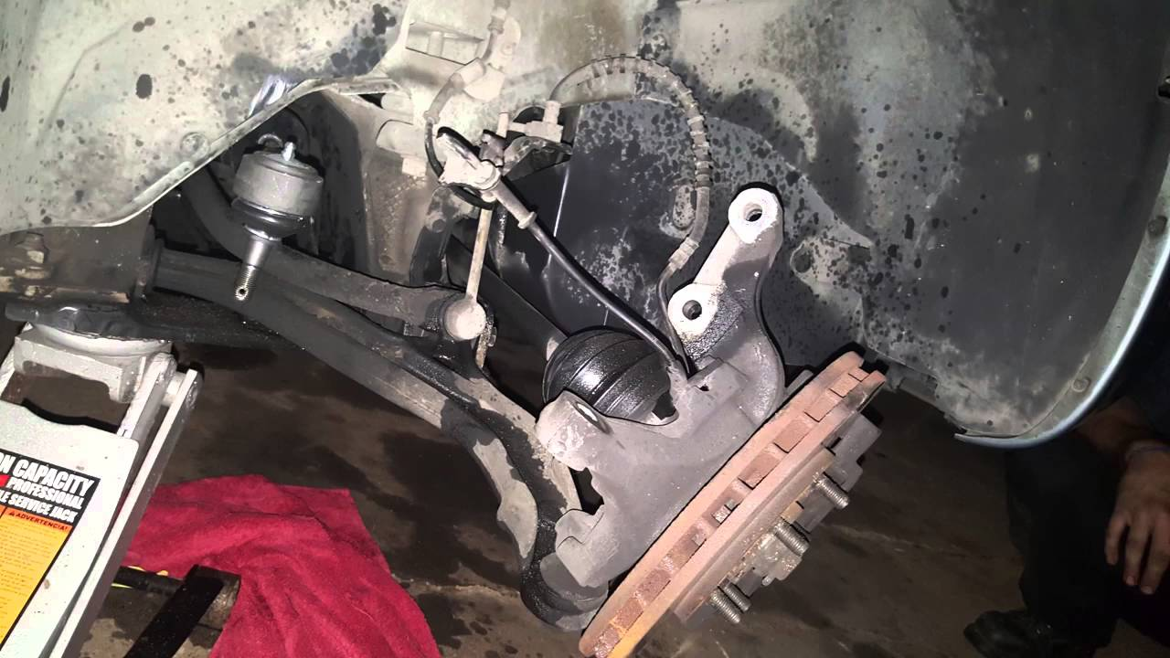 small resolution of replacing suspension dodge caravan chrysler town country