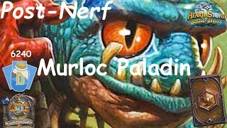 Hearthstone: Murloc Paladin Post-Nerf #3: Witchwood (Bosque das Bruxas) - Standard Constructed
