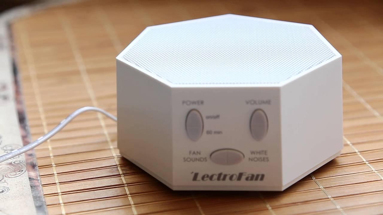 20160416 LectroFan除噪助眠器 1 - YouTube