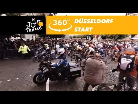 Düsseldorf's start - 360° - Tour de France 2017