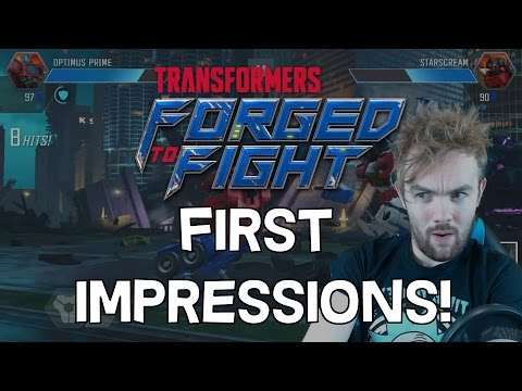 Transformers: Forged To Fight - First Impressions and Gameplay - THIS GAME IS AWESOME!!