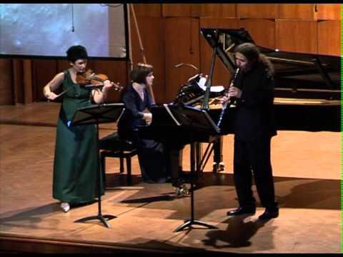 TRIO POKRET performes Tatjana Milosevic, Dark Blue Almost Black