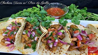 """How To Make The Best Chicken Tacos On A Wednesday """"Let's Get It"""""""