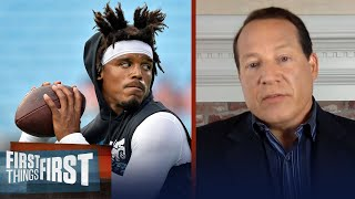 There's absolutely a chance Cam isn't the Patriots starter WK 1 — Mangini | NFL | FIRST THINGS FIRST