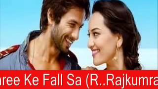 Saree Ke Fall Sa Full Song( Audio)  R   Rajkumar Shahid Kapo