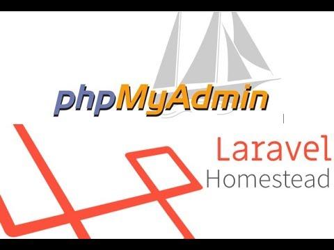install phpmyadmin on vagrant homestead