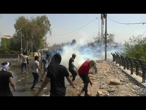 مقتل متظاهرين مع تصاعد الاحتجاجات في جنوب العراق  - 15:22-2018 / 7 / 16