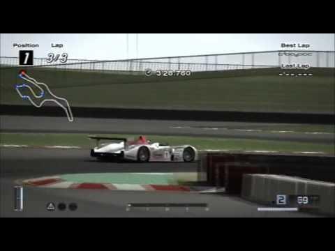 GT Driving Mission Infineon Raceway Audi R Race Car - Audi r8 race car 01 gt6
