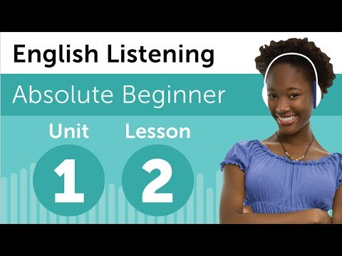 English Listening Comprehension - At an American Restaurant