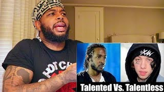 Talented Rappers Vs. Talentless Rappers | Reaction