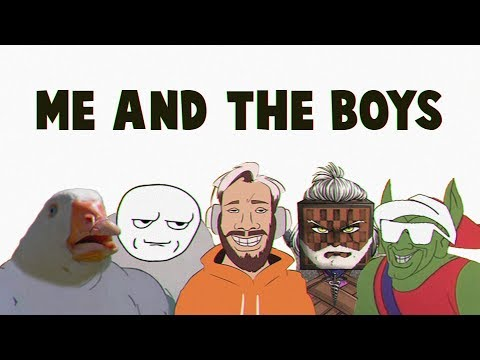 Party In Backyard - Me and the Boys (PewDiePie's Rewind 2019 Music)
