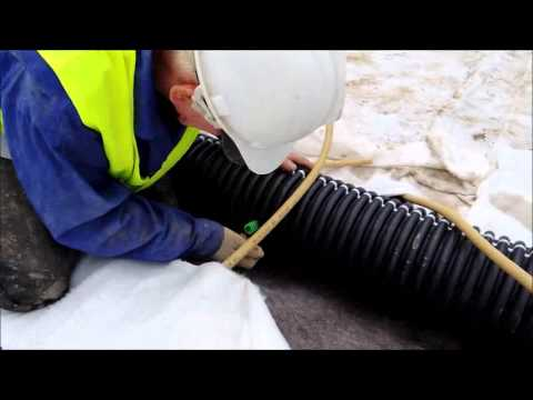 Quick Connect Corrugated Pipe Youtube