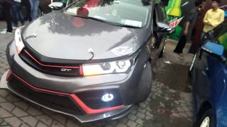 Toyota Corolla Grande Fully Modified || Pakwheels Lahore Auto Show