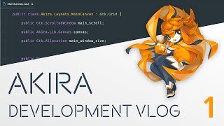 Here's the first of many development vlogs about Akira, the Linux D...