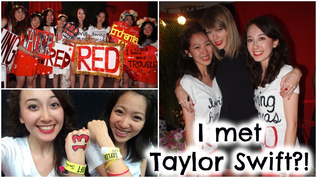 Meeting Taylor Swift My Club Red Experience Tips Youtube