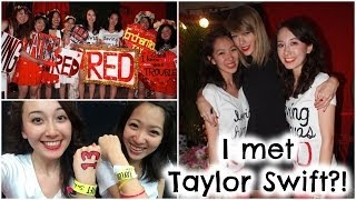 Meeting Taylor Swift: My Club Red Experience & Tips!