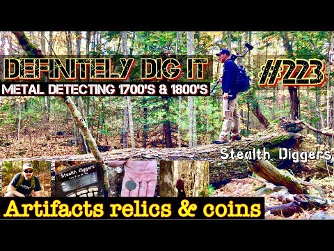 Definitely dig it #223 Metal detecting signals & sounds coin