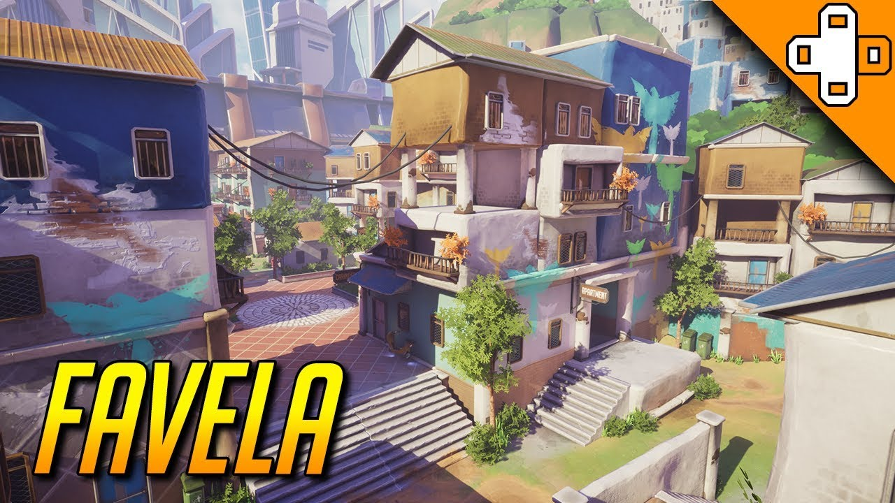 New overwatch map concept favela luxor fan made map youtube new overwatch map concept favela luxor fan made map sciox Gallery