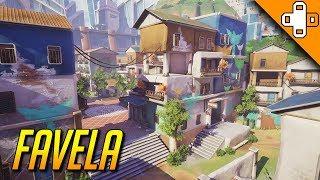 New Overwatch Map Concept - Favela & Luxor - Fan-Made Map