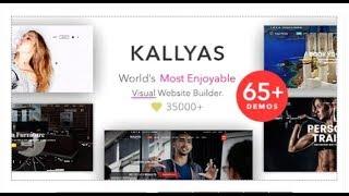 KALLYAS - Creative eCommerce Multi-Purpose WordPress Theme | Themeforest Templates
