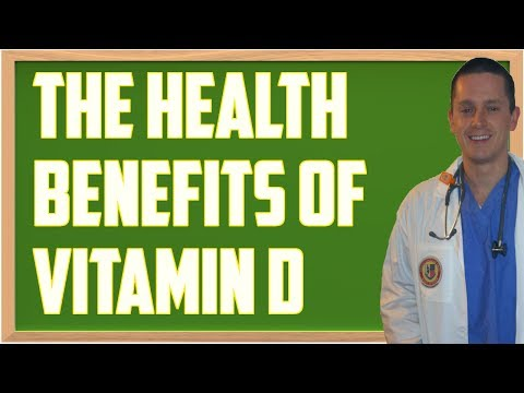 Vitamin D: A Review of all it's Health Benefits
