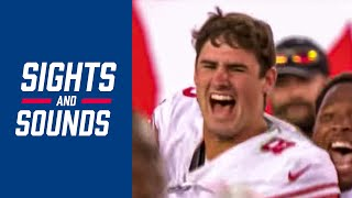 "Top Sounds from Daniel Jones' INCREDIBLE First Start, ""You have to believe!"" 