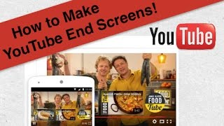 Video How to Use YouTube End Screen Editor for Your Videos download MP3, 3GP, MP4, WEBM, AVI, FLV Juli 2017
