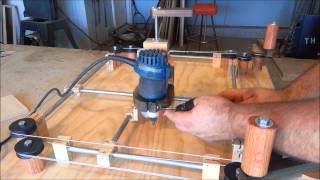 Repeat youtube video Router Jig - Etch A Sketch Style!